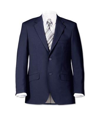 Men's 2 Button Jacket Navy