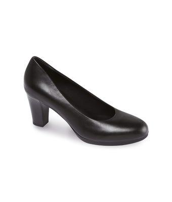 Women's plateau court shoe