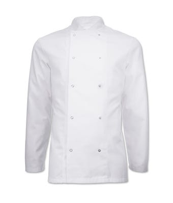 Essential short sleeve chef jacket