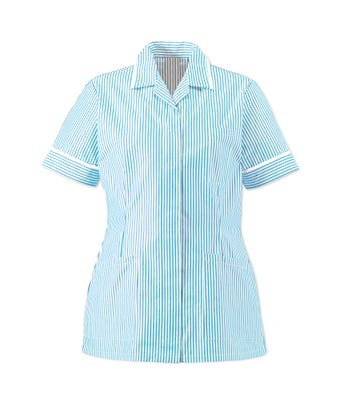 Lightweight Stripe Tunic Blue/White