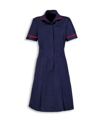 Dress Nurses Navy/Red W/ Logo
