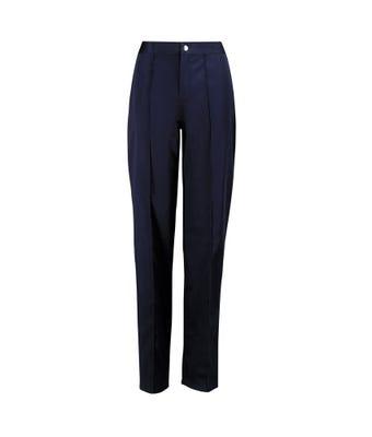 Women's flat front trousers