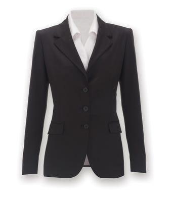 Icona Women's 3 Button Jacket Black