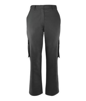Women's Cargo Trousers Grey