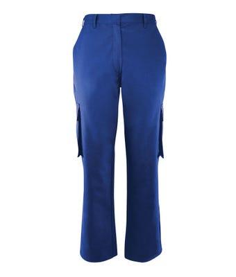 Women's Cargo Trousers Royal