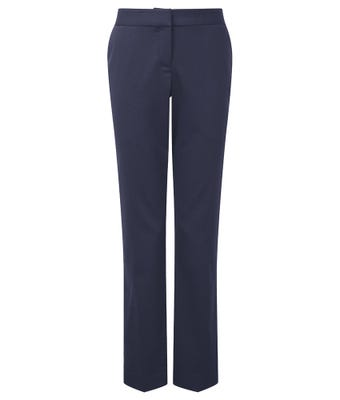Cadenza Women's Slim Fit Trousers - Navy
