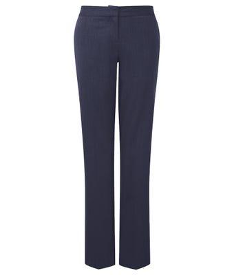 Cadenza Women's Straight Leg Trousers - Navy