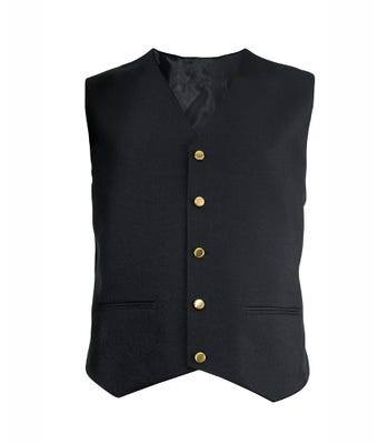 Men's Waistcoat Black