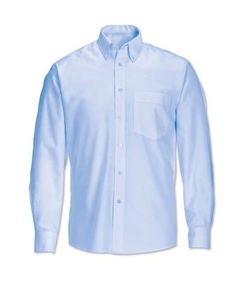Men's L/S Shirt Pale Blue