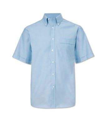 Men's S/S Shirt Pale Blue
