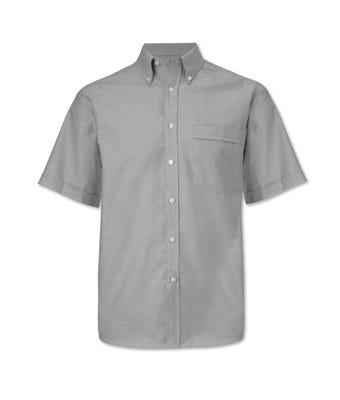 Men's S/S Shirt Pale Grey