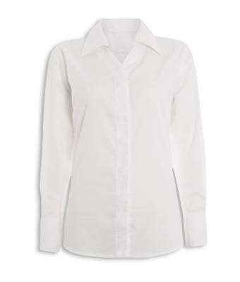 L/S Blouse White