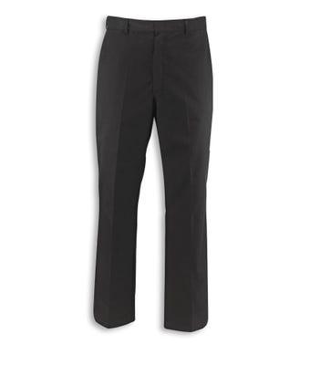 Men's concealed elasticated waist trousers black
