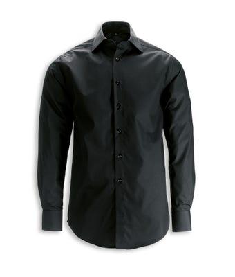 Men's L/S Shirt Black W/Comp Care Logo