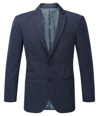 Men's Slim Fit Jacket Navy W/ Housing Logo