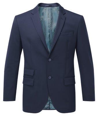 Men's Classic Fit Jacket Navy W/ Housing Logo