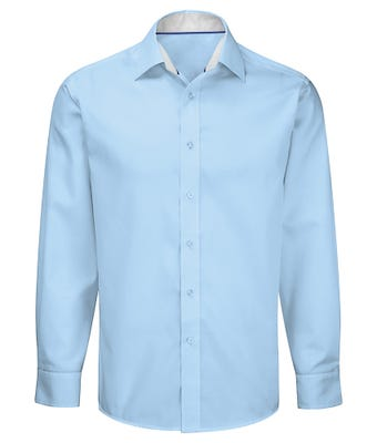 Men's long sleeve 100% cotton shirt