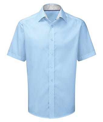 Men's short sleeve 100% cotton shirt