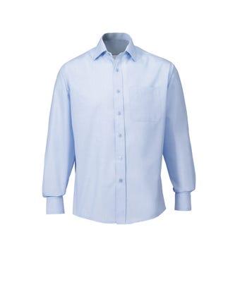 Men's L/S Shirt Pale Blue W/Housing Logo