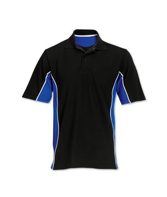 Contrast side panel polo shirt