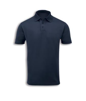 B&D Unisex Wickable Polo Shirt Navy