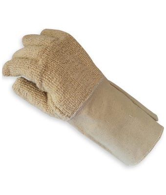 Heat resistant glove - Terry canvas cuff