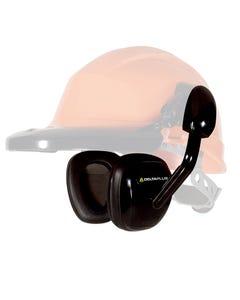 Ear defenders for safety helmet