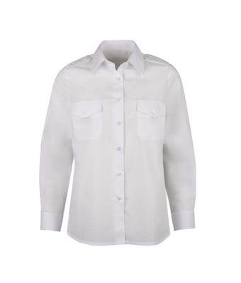 Women's long sleeved pilot shirt