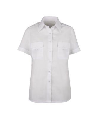 Women's short sleeved pilot shirt