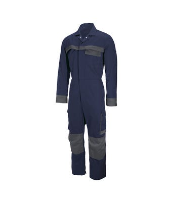 Tungsten Coverall Navy/Grey Piping