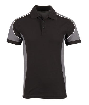Tungsten men's polo shirt