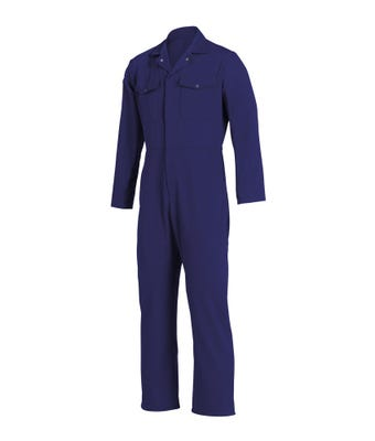 Navy Boilersuit - With White Logo