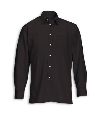 Men's Long Sleeved Shirt Black