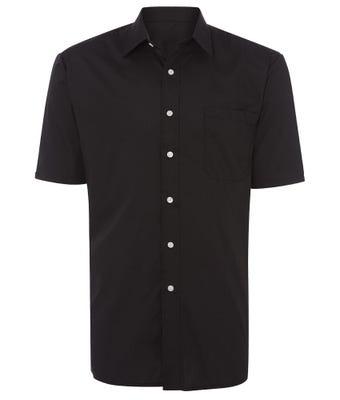 Men's Short Sleeved Shirt Black