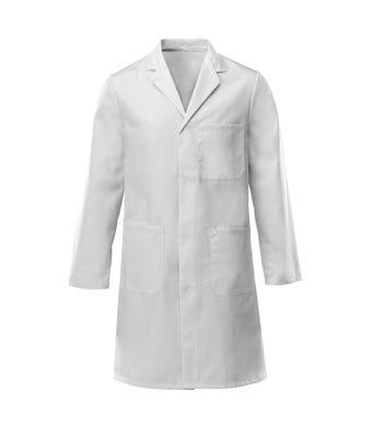 B&D Lab Coat White