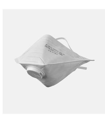 FFP2 Valved Fold Flat Mask FP27     1 = 60 Masks