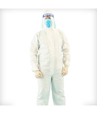 Disposable Coverall sold in Boxes of 50