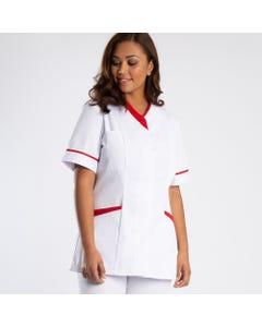 Womens contrast trim stud tunic