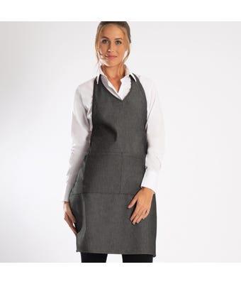 Halter neck bib apron
