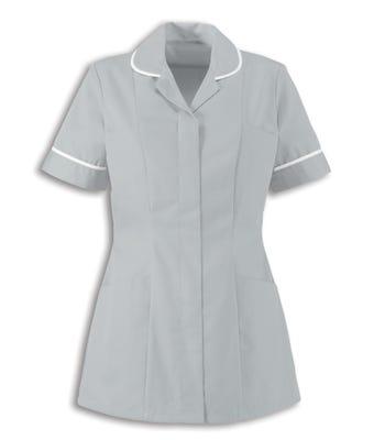 UWL Female Nursing Tunic Pale Grey HP298PG