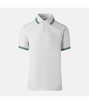 Unisex Polo Shirt With Contrast Tipping
