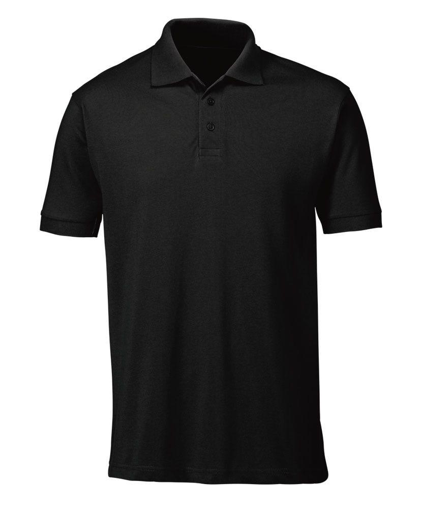 Polo shirt workwear alexandra for Black polo shirt images
