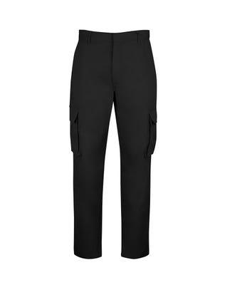 Unisex Cargo Trousers Black NM515BK