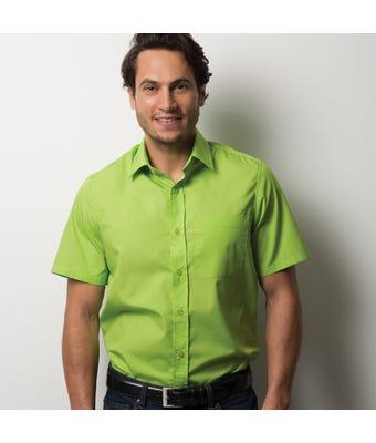 Easycare men's short sleeve shirt