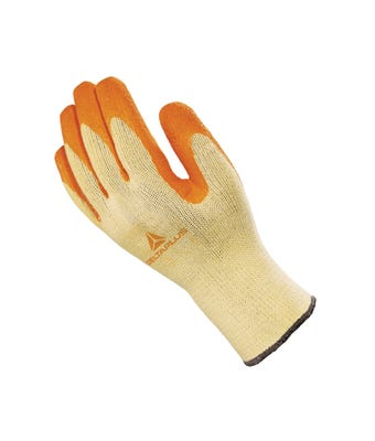 Tough knit grip glove