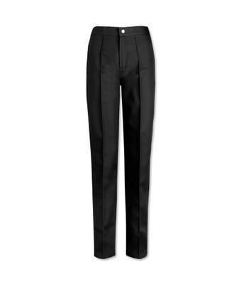 Swansea Womens Flat Front trouser Black