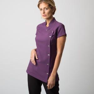 Asymmetrical Button Tunic