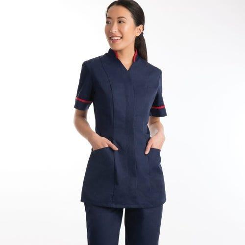 Women's Mandarin Collar Tunic