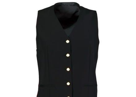 Women's Gilt Button Waistcoat
