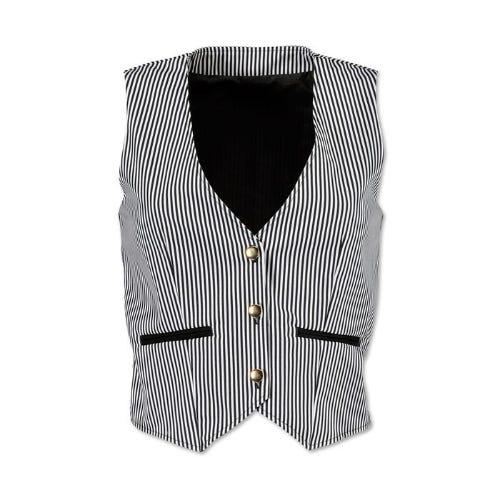 Women's Striped Waistcoat